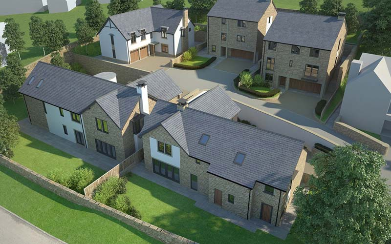 main contractor for large residential development ilkley